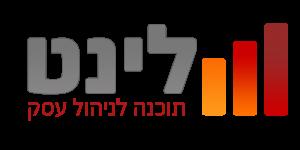 לוגו לינט צבעוני עם טקסט